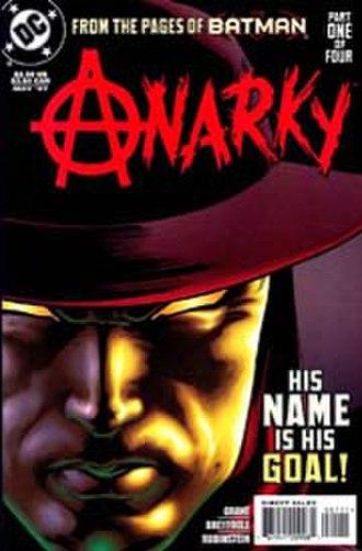 Anarky (comic book) - Image: Anarky, vol.1 1 (May 1997)