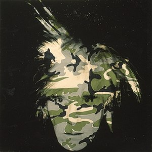 Camouflage Self-Portrait - Image: Andywarhol