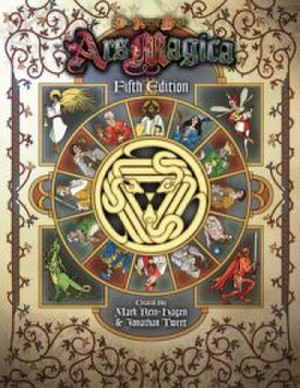 Ars Magica - Cover for Ars Magica, fifth edition