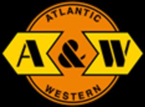 Atlantic and Western Railway - Image: Atlantic and Western Railway logo