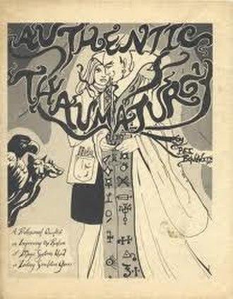 Authentic Thaumaturgy - Image: Authentic Thaumaturgy