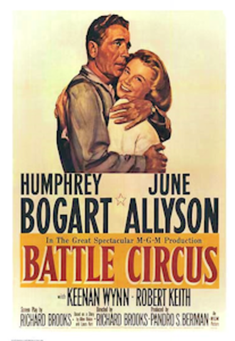 Battle Circus (film) - 1953 film poster