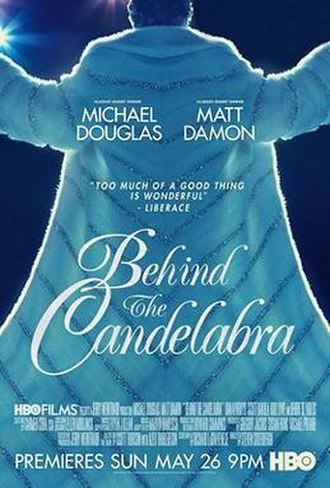 Behind the Candelabra - Television release poster