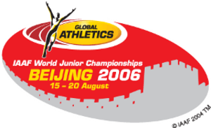 2006 World Junior Championships in Athletics - Image: Beijing 2006logo