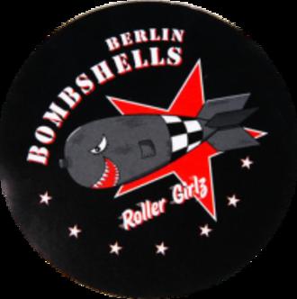 Bear City Roller Derby - Original Berlin Bombshells logo