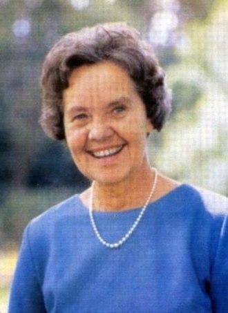 Betsie Verwoerd - Image: Betsie Verwoerd kleur