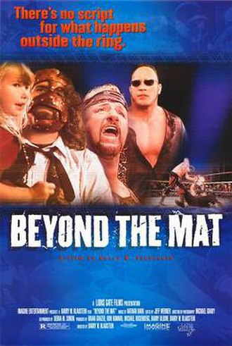 Beyond the Mat - Theatrical release poster