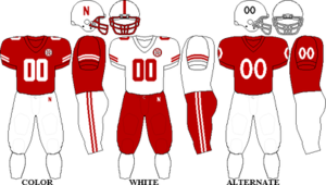2009 Nebraska Cornhuskers football team - Image: Big 12 Uniform UN 2009