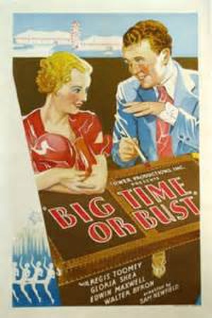Big Time or Bust - Theatrical poster for the film