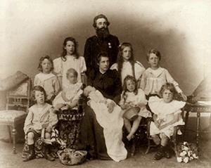 Arthur Booth-Clibborn - The Booth-Clibborn family in about 1900