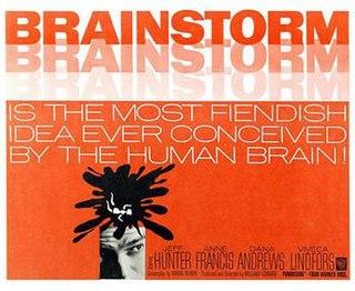 <i>Brainstorm</i> (1965 film) 1965 film by William Conrad