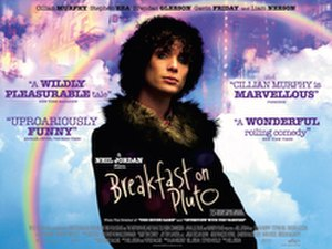 Breakfast on Pluto (film) - Theatrical release poster
