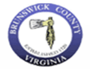 Brunswick County, Virginia - Image: Brunswick Co Seal