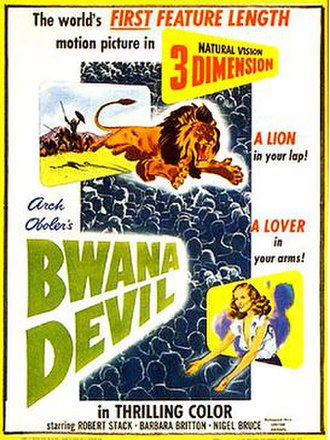 Bwana Devil - Theatrical release poster