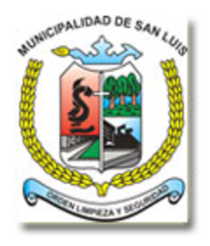San Luis District, Lima - Image: COA San Luis District in Lima Province