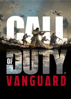 <i>Call of Duty: Vanguard</i> 2021 WWII first-person shooter video game