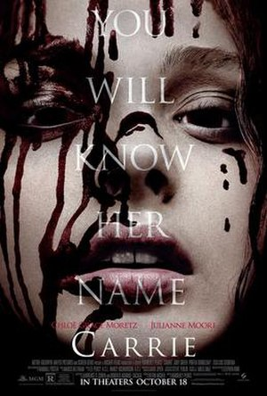 Carrie (2013 film) - Image: Carrie Domestic One sheet