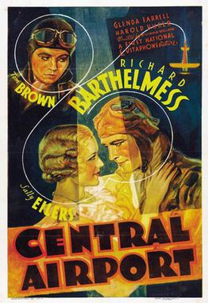Central Airport (film) - Theatrical film poster