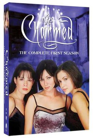 Charmed (season 1) - DVD cover