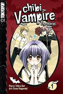 List of Chibi Vampire: The Novel light novels - Wikipedia