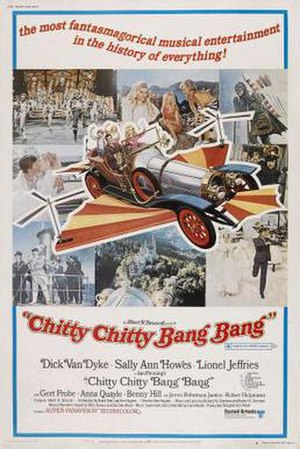 Chitty Chitty Bang Bang - Original cinema release poster