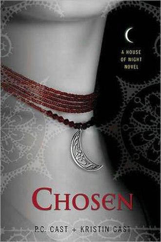 Chosen (Cast novel) - The first edition cover of Chosen