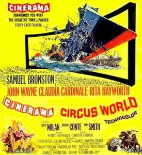 <i>Circus World</i> (film) 1964 film