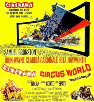 Circus World (film) - film poster by Frank McCarthy