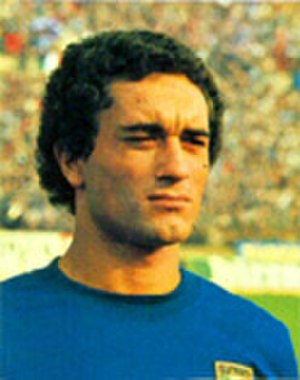 Claudio Gentile - Gentile lining up for Italy