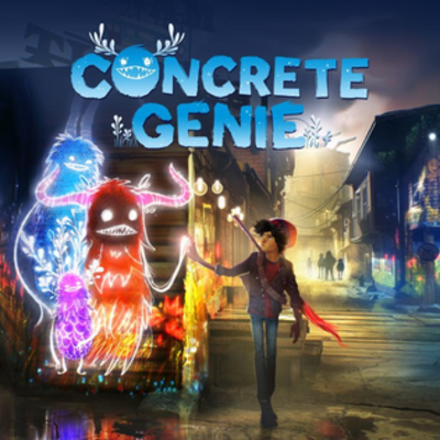 Picture of a game: Concrete Genie