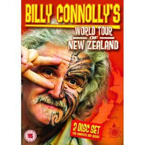 Billy Connolly's World Tour of New Zealand - DVD box-set cover
