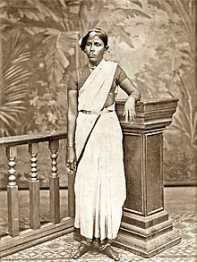 Indian woman in traditional dress