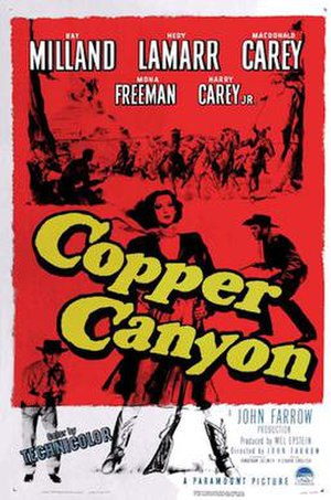 Copper Canyon (film) - Image: Copper Canyon 1950 poster