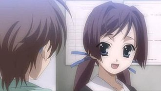 Cross Days - Example of a conversation in Cross Days. Here, Roka is talking to Yuuki.