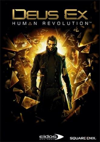 Deus Ex: Human Revolution - Image: Deus Ex Human Revolution cover