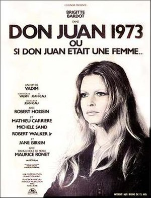 Don Juan, or If Don Juan Were a Woman - Promotional poster