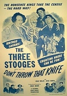 <i>Dont Throw That Knife</i> 1951 film by Jules White