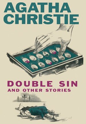 Double Sin and Other Stories - Dust-jacket illustration of the first US edition