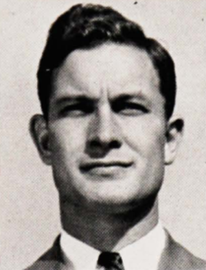 George E. Allen (coach) - Allen pictured in The Prism 1943, Maine yearbook