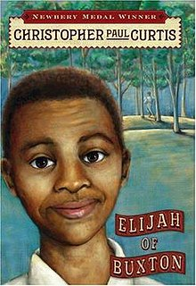 <i>Elijah of Buxton</i> American childrens novel by Christopher Paul Curtis, 2007