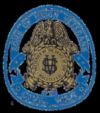 Sons of Union Veterans of the Civil War - Emblem of the Sons of Union Veterans