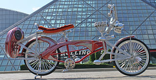 Lowrider bicycle Customized bicycle