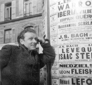 Eugene Walter - Taken during his time in Paris