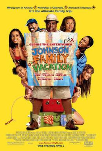 Johnson Family Vacation - Theatrical release poster