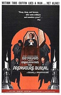 <i>Premature Burial</i> (film) 1962 film by Roger Corman