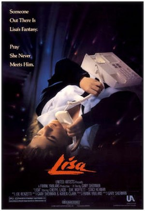 Lisa (1990 film) - Theatrical release poster
