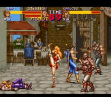 [Análise Retro Game] - Final Fight 2 e 3 - Super Nintendo 220px-Final_Fight_2_gameplay