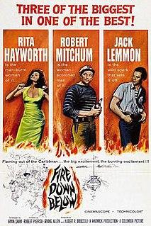 <i>Fire Down Below</i> (1957 film) 1957 film by Robert Parrish