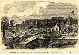 Fort Delaware - Fort Delaware during the American Civil War