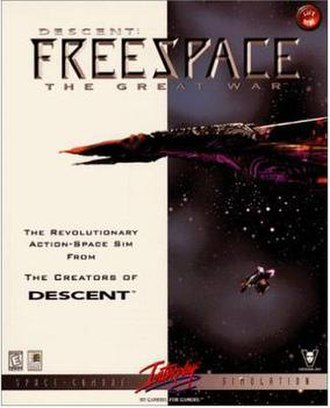 Descent: FreeSpace – The Great War - Image: Freespace 1box